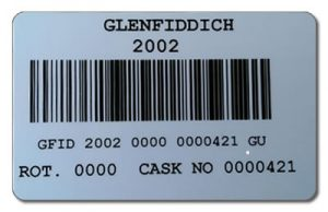 Glenfiddich barcode
