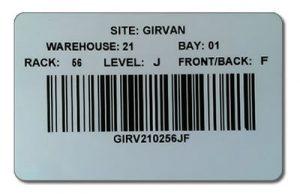 Girvan barcode
