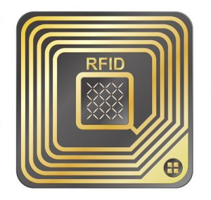 an RFID chip used by DRAMScan